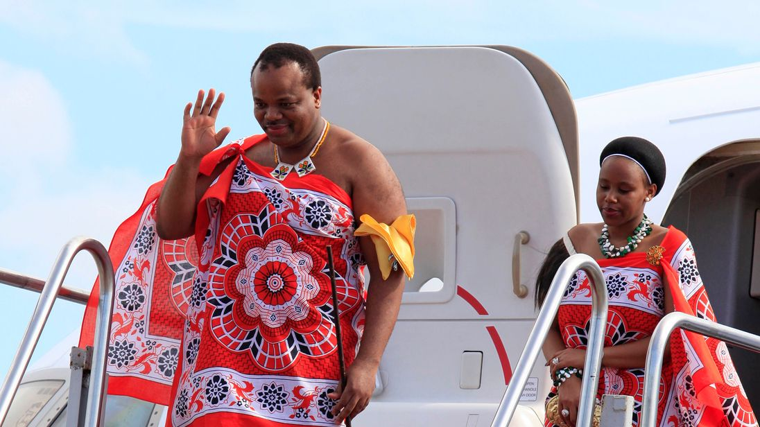 King renames African country in celebration of birthday