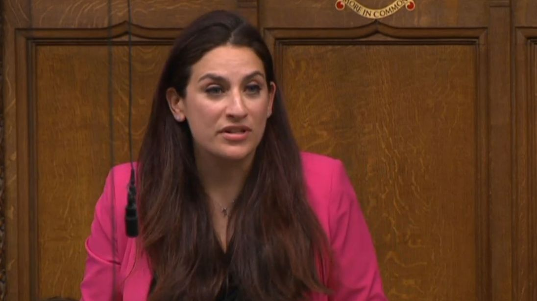 Labour's Luciana Berger during her speech in the House of Commons