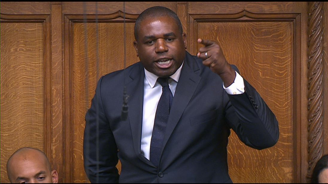Labour MP David Lammy blasts windrush status situation as 'inhumane and cruel'