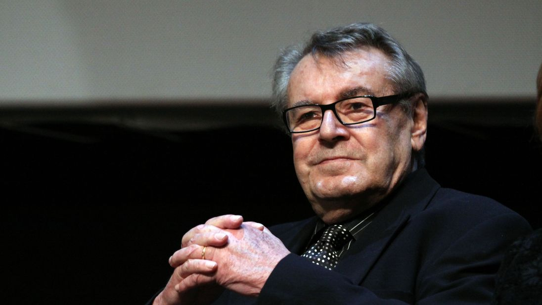 Milos Forman has been described as a 'master filmmaker'