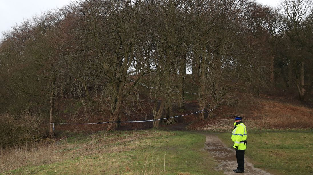 Police give name to dead baby found in woods near Rochdale