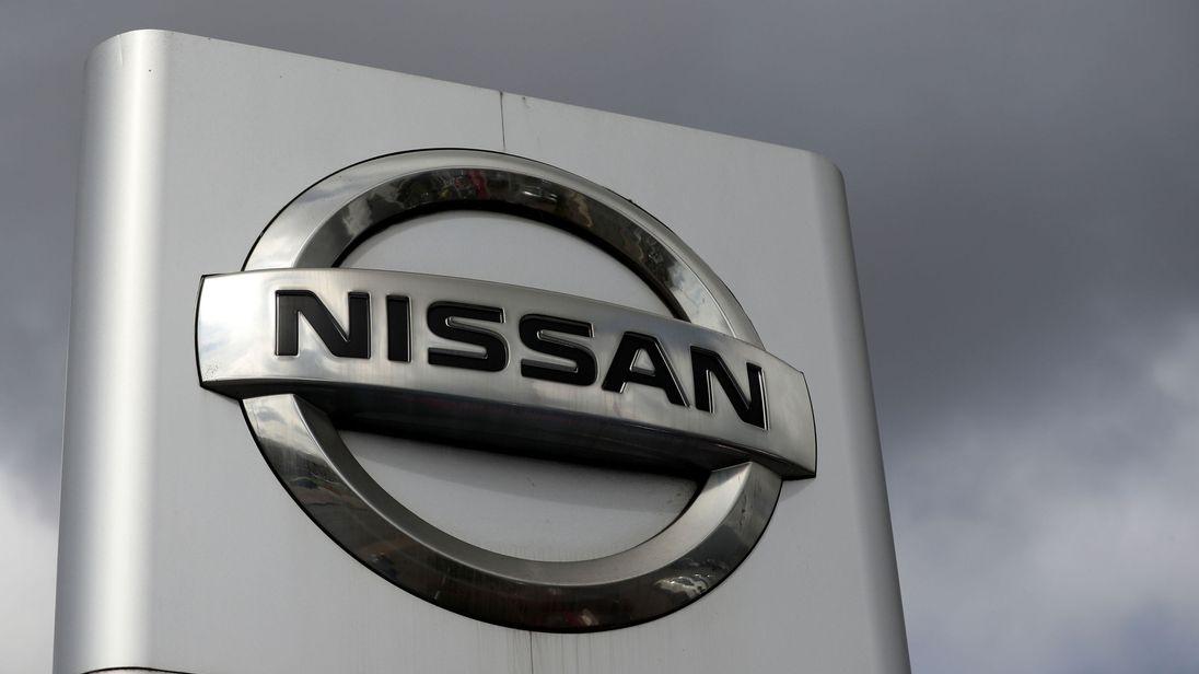 Nissan sign