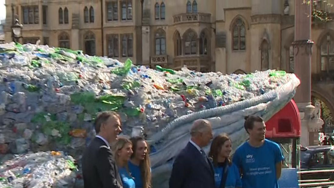 Companies commit to cutting plastic pollution