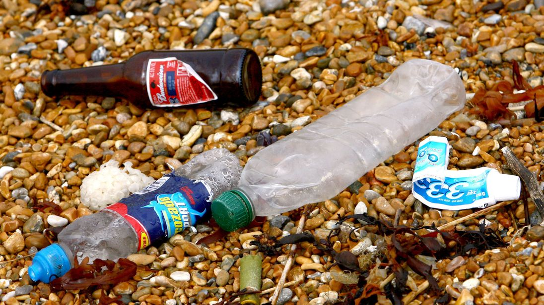 United Kingdom pledges new funding to battle plastic pollution