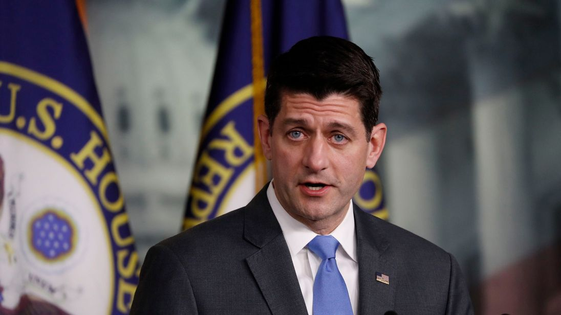 House Speaker Paul Ryan not seeking reelection