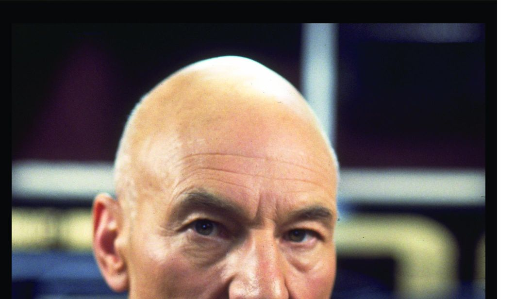 Sir Patrick Stewart as Jean-Luc Picard in Star Trek