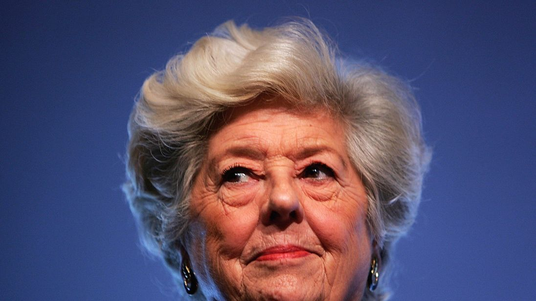 Baroness Boothroyd was highly regarded when she was Speaker