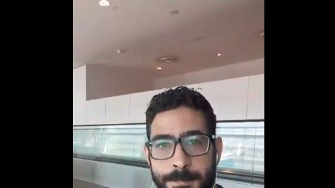 Syrian Man Stuck At Airport: 'People Look At Us Now As Terrorists'