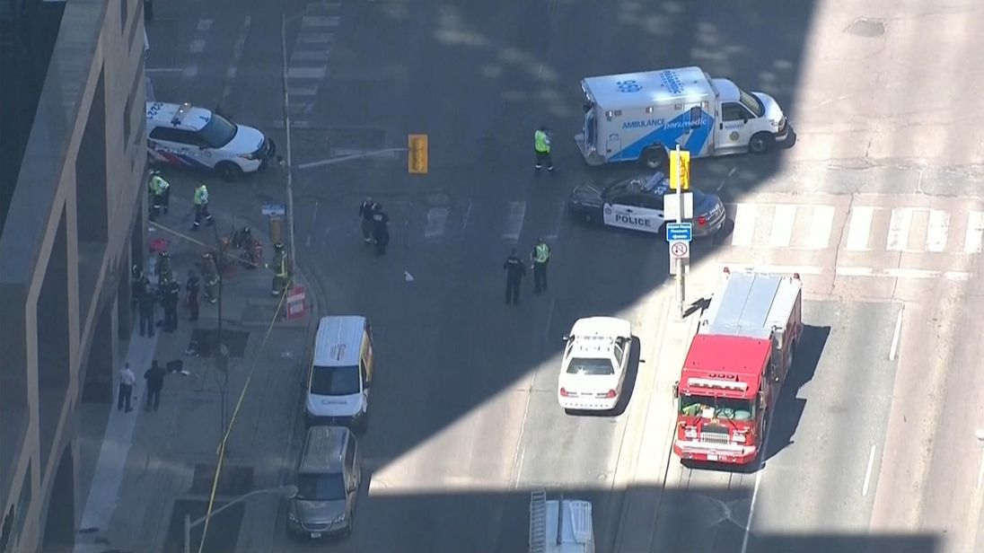 Emergency services are on the scene in Toronto