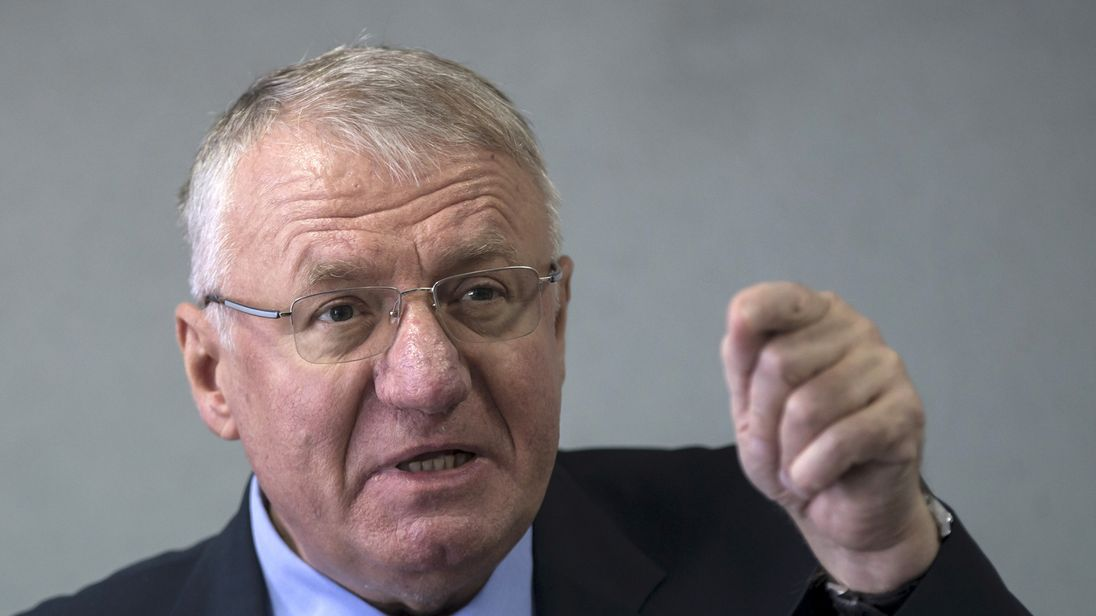 Vojislav Seselj was accused of murder, persecution and torture