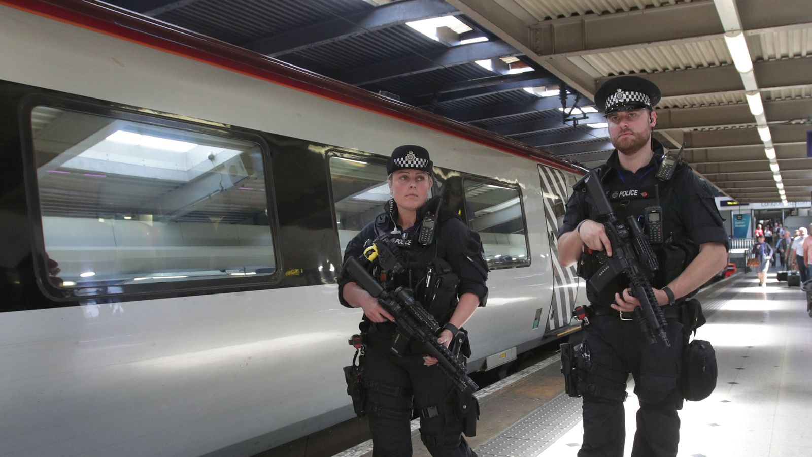 Hundreds of specially-trained police ready to swarm 'terror targets' in London