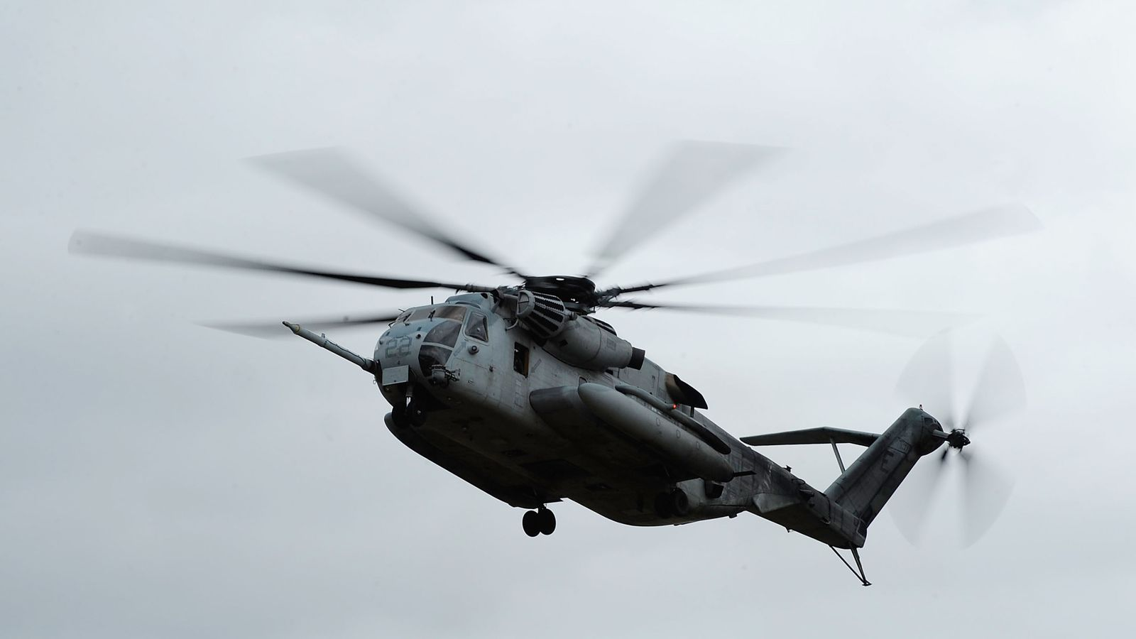 US marines die in California helicopter crash