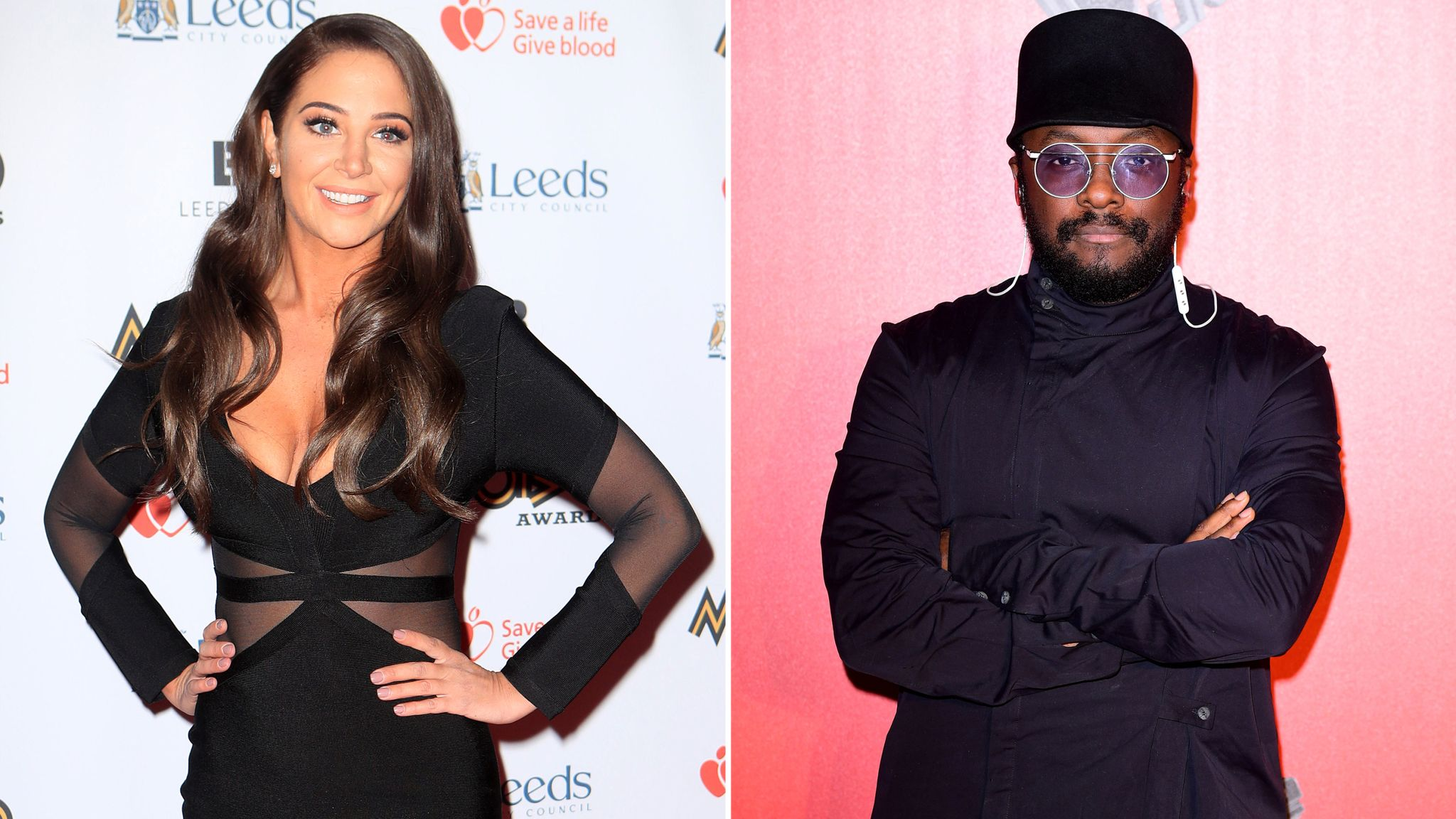 Tulisa Wins Legal Battle Against Will I Am Over Britney Track Ents Arts News Sky News