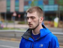 Tom Evans spoke outside Alder Hey Children's Hospital on Tuesday