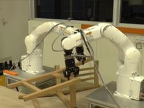 A team of researchers from Singapore's Nanyang Technological University (NUT) have developed a pair of robotic arms capable of tackling one of the hardest tasks known to man. Assembling Ikea furniture.