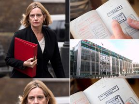 Amber Rudd, Home Office. Pic: Steve Cadman