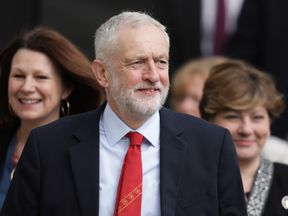 Corbyn continues to be the focus of an anti-semitism row