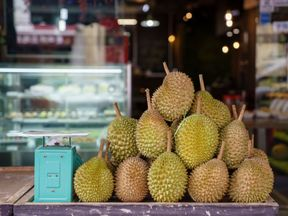 Durian is a delicacy in southeast Asia