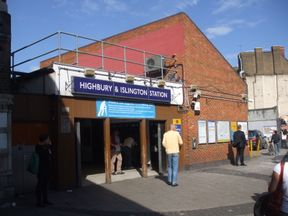 Police were called to Highbury and Islington station. Pic: Sunil Prasannan