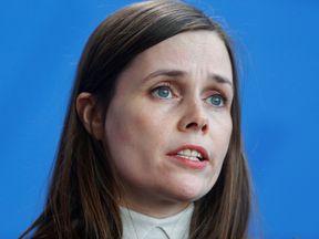 Iceland Prime Minister Katrin Jakobsdottir