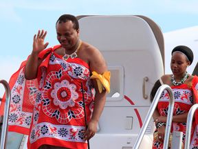 King Mswati of Swaziland
