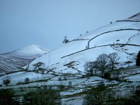 Wintry weather is expected on higher ground in the Lake District