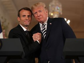 Mr Trump said the pair had a 'great relationship'