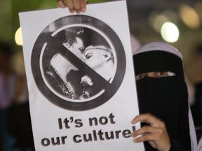 Malaysia is a Muslim-majority country where homosexuality is often not tolerated. File pic.