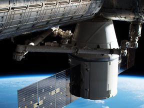 SpaceX's Dragon capsule docked at the ISS. Pic: NASA