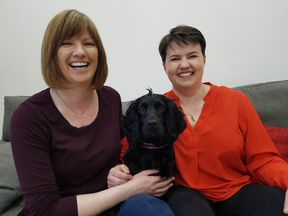 Jen Wilson and Ruth Davidson are expecting their first child. @RuthDavidsonMSP