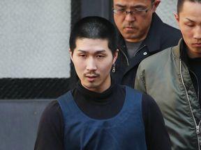 Tatsuma Hirao was on the run for three weeks