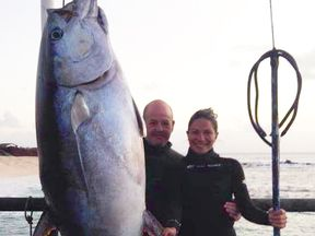 Dr Bradley and Ms Gergely were keen anglers. Pic: Facebook