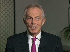 Former Labour Prime Minister Tony Blair