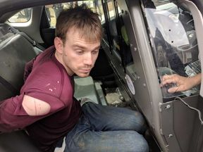 Travis Reinking has been arrested after a shooting in Nashville. Pic: Nashville Metro PD
