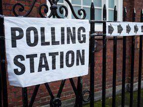 UK polling station