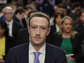 Facebook CEO Mark Zuckerberg faces his second Congressional hearing on Wednesday