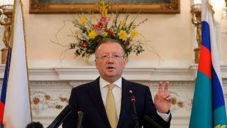 Russian ambassador to UK Alexander Yakovenko