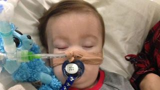 Alfie Evans, who has been at the centre of a life-support battle