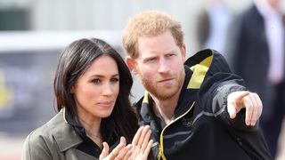 Prince Harry, Patron of the Invictus Games Foundation and Meghan Markle attend the UK Team Trials for the Invictus Games Sydney 2018 at the University of Bath Sports Training Village on April 6, 2018 in Bath, England. The Invictus Games Sydney 2018 will take place from 20-27th October and will see over 500 competitors from 18 nations compete in 11 adaptive sports.