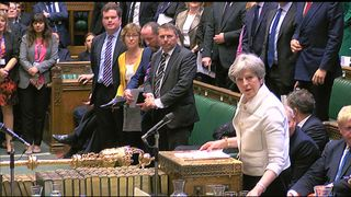 THERESA MAY HOUSE OF COMMONS 16.04.18