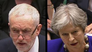 Jeremy Corbyn accuses Theresa may of being callous during PMQs