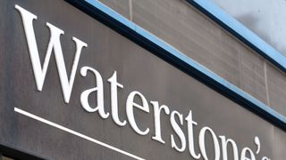 File photo dated 6/1/2016 of a shop sign for Waterstone's in central London.