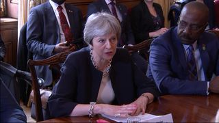 "The PM says the Government is ""genuinely sorry for any anxiety that has been caused"" during a meeting with Caribbean leaders."