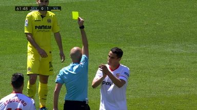 Yedder's two-second red card!
