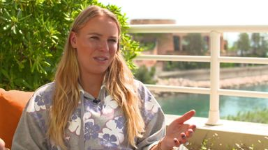 Wozniacki savours 'amazing feeling'