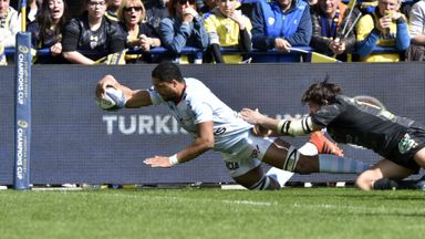 Clermont 17-28 Racing 92