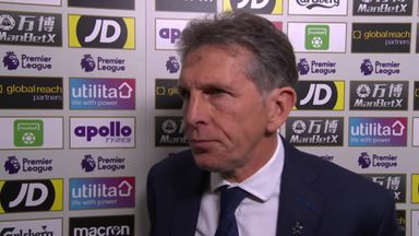 Puel: Red card was harsh
