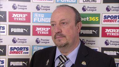 Benitez blames mistakes