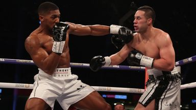 Highlights: Joshua beats Parker
