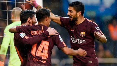 Deportivo 2-4 Barcelona